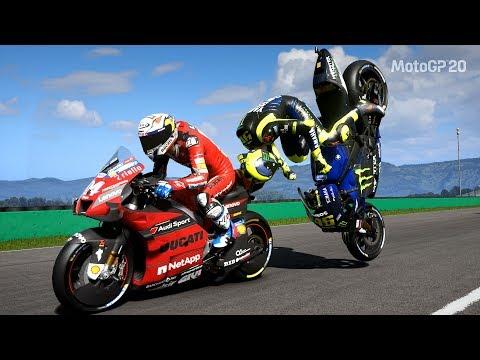 MotoGP 20 - Crash Compilation (PC HD) �080p60FPS]