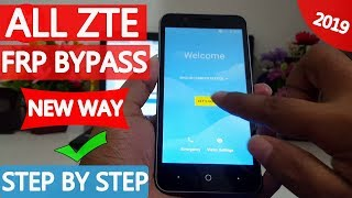 ✅ALL ZTE Google Account Bypass 2019 | Without Pc | New Way | #AndroidUnlock