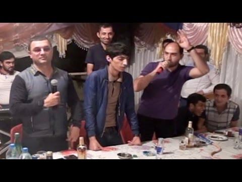 Yemish Gelib Qarpizin Ustunde / Orxan, Vuqar, Elekber, Mehman, Ruslan, Balaeli, Agamirze / Meyxana mp3 yukle - mp3.DINAMIK.az
