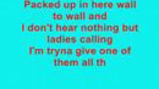 Chris Brown- Wall to Wall (lyrics)
