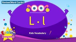 Kids từ vựng biên soạn - Words bắt đầu với L, l 2