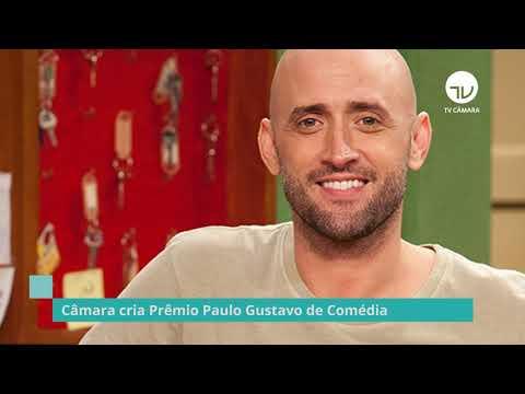 Câmara cria Prêmio Paulo Gustavo de Comédia - 07/10/21