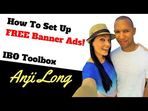 How To Set Up Free Banner Ads | IBO Toolbox Banners | MCA Training