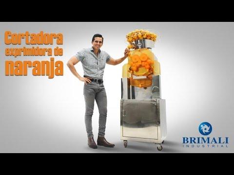 Exprimidor de naranjas industrial - Kretor - Brimali Industrial