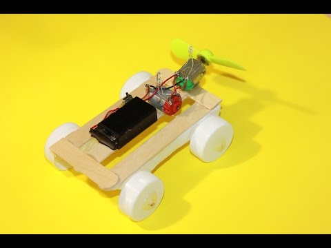 HOW TO MAKE A CAR FOR FUN WITH TWO ENGINES  DIY