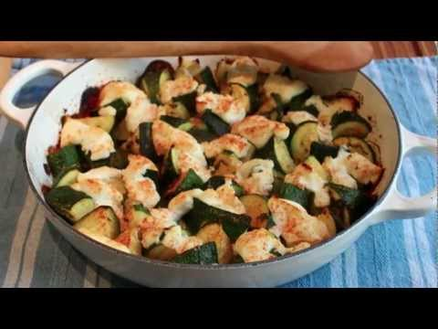 Zucchini Ricotta Casserole – Squash Baked with Ricotta Cheese and Mint