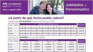 Anses Informó El Calendario De Pago De Junio, Julio Y Agosto