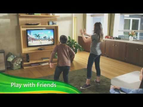 Kinect for Xbox 360 - Kinect Family official video game system preview trailer HD