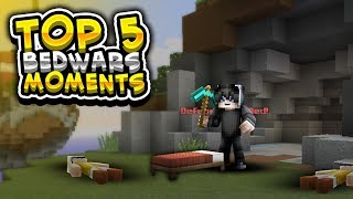 Top 5 Bedwars Moments in Minecraft (Surprise At The End!)