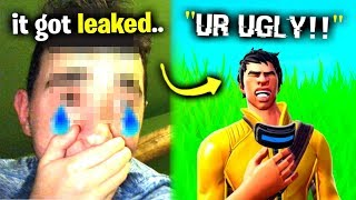 My Face Reveal Ruined My Life.. (Fortnite)