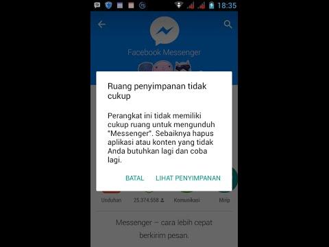 """Video Cara Mengatasi """"Penyimpanan tidak cukup"""" saat install aplikasi di playstore Android [Solusi]"""