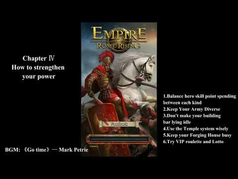 Empire Rome Rising Giude Part4—How to strengthen your power