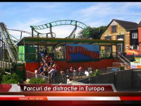 Parcuri de distracţie în Europa – VIDEO