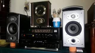 Ampli ITT Srx75 Cd Md Cm6001 Marantz Loa Bookshelf Polkaudio RTI4
