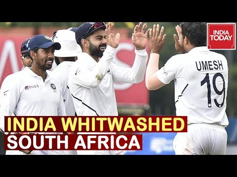 India Whitewashed South Africa, India's First Clean Sweep Over 50 Years