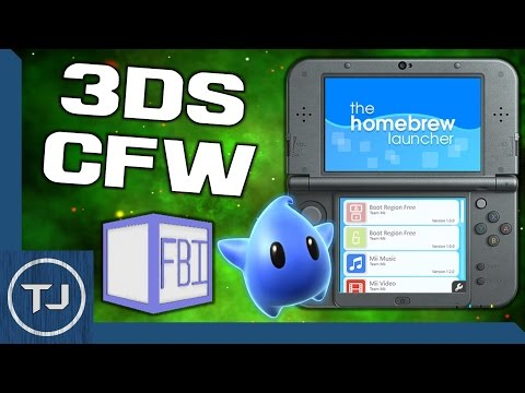 3DS/2DS CFW 11 2! (Arm9LoaderHax, FBI, LUMA, HomeBrew) *OUTDATED