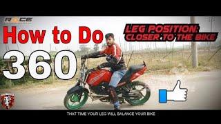 How To Do 360 on Motorbike   Episode 02   Stunt Tutorial 2018   Road Riderz, RRz   Race