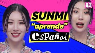 ¿SUNMI hablando español?   Guess the Spanish Words   SUNMI