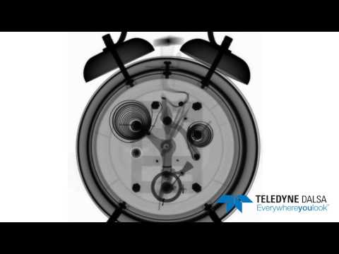 High-Speed X-Ray of Alarm Clock @ 30 fps
