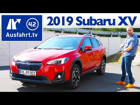 2019 Subaru XV 2.0i Exclusive+ Lineartronic - Kaufberatung, Test deutsch, Review, Fahrbericht
