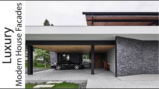 Luxury Modern House Facades