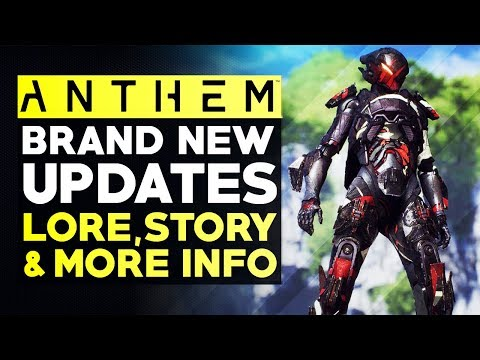 Anthem Update News - Bioware Working on Something Big: New Lore, Stories, Characters & More Leaks