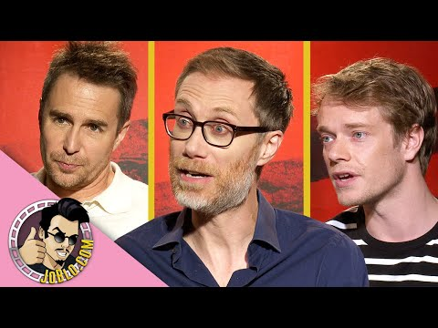Sam Rockwell, Stephen Merchant & Alfie Allen Interview for JoJo Rabbit