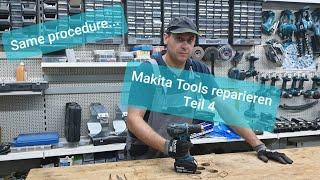 Makita Tools reparieren Part4 - Akku-Schrauber 18V DDF456Z