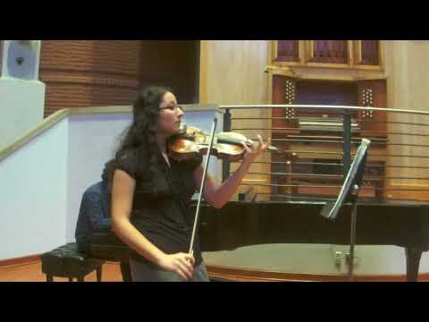 Saint Saens Violin Concerto No. 3, 1st mvt.