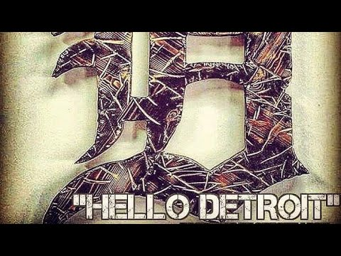 16 The ICON's - HELLO DETROIT [Official Music Video] (Produced by Cracka Lack)