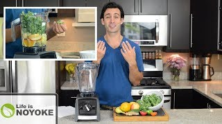 How To Make Green Juice In A Blender (without A Juicer!)
