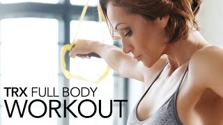 Full Body TRX Workout (TOP 6 EXERCISES!!) by Athlean-XX for Women