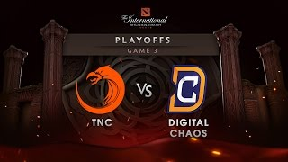 TNC vs Digital Chaos - Lower Bracket - Game 3 - The International 6