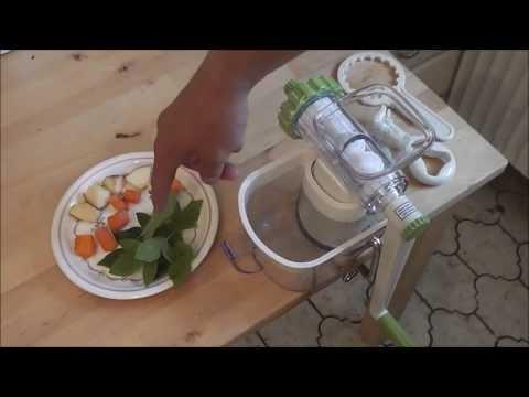 Lurch Green Power Entsafter - Der kleine Handentsafter (Lurch hand juicer)