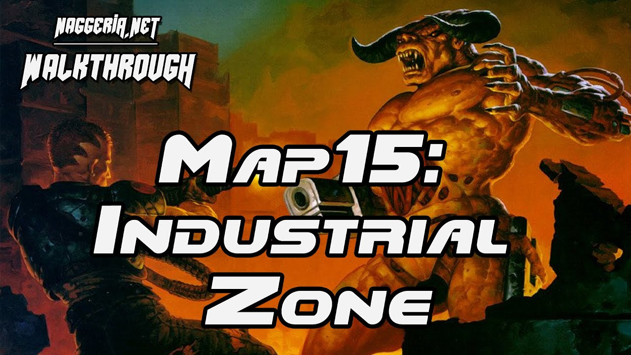 "[Doom 2 Komplettlösung] Map15: ""Industrial Zone"" Walkthrough (Ultra-Violence)"