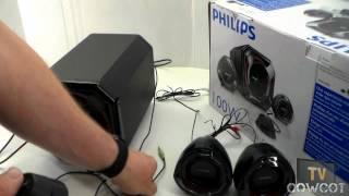 [Cowcot TV] Présentation Enceintes Philips SPA 5300