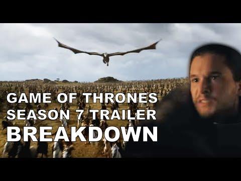 GoT Season 7 TRAILER BREAKDOWN