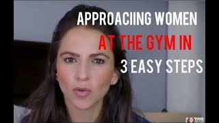 How To Apporach Women At The Gym and Signs She Wants You To Approach (Real Life Examples)