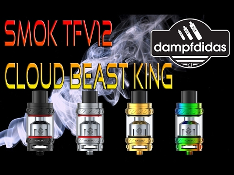YouTube Video zu SMOK TFV12 Cloud Beast King Verdampfer 6 ml