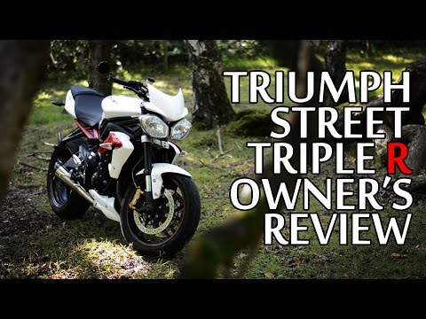 2013 Triumph Street Triple R - Owner's Review