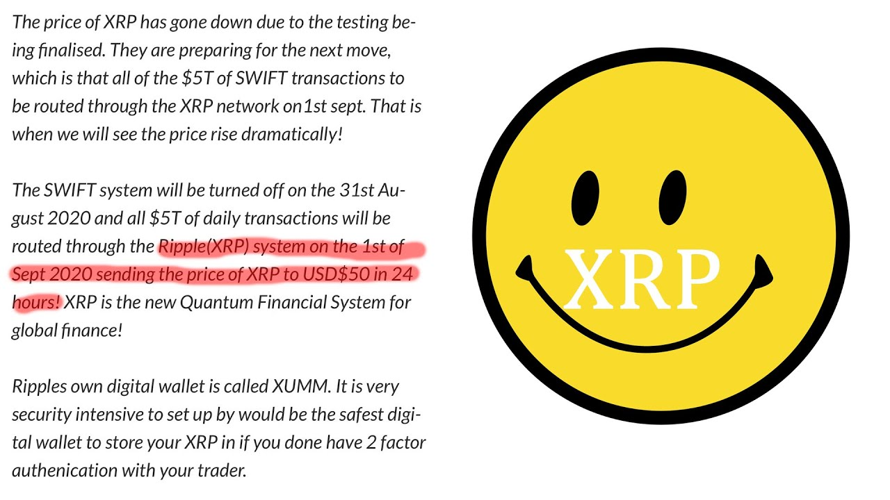 Ripple XRP $50 in 24 HOURS NEW QFS!! #Ripple #XRP