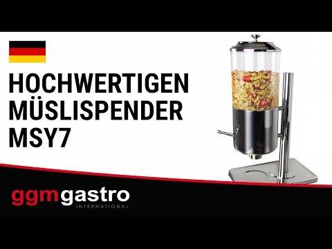 Müslispender MSY7 - GGM Gastro
