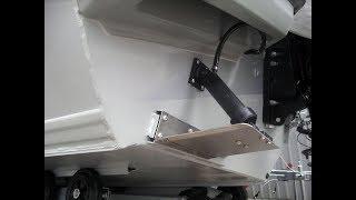 Для чего нужны транцевые плиты на катере
