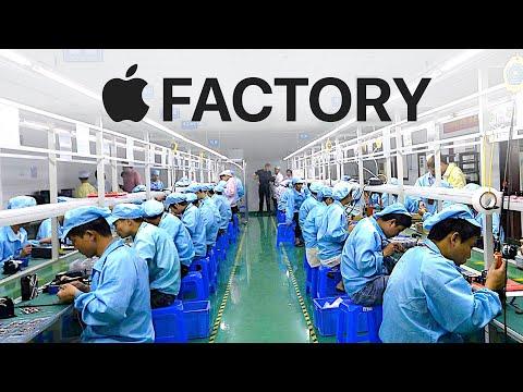 Inside Apple's iPhone Factory