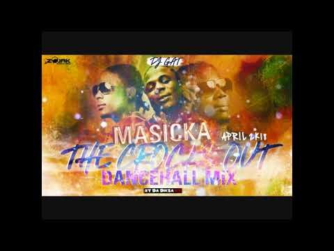 APRIL 2018 (MASICKA) THE CROCKS OUT DANCEHALL MIX LATEST TUNE DJ GAT 1876899-5643