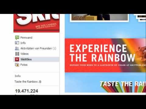 Facebook Fanpage erstellen - Converse All Star, Converse & Skittles