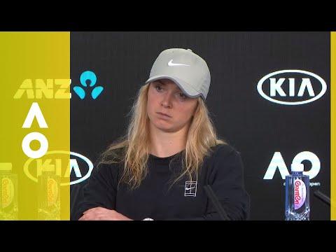 Elina Svitolina press conference (4R) | Australian Open 2018