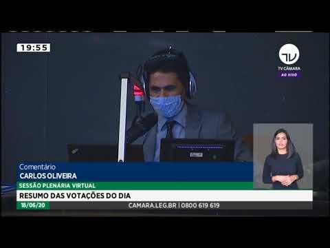Deputados concluem votação de projeto que suspende dívidas de estudantes com o Fies - 18/06/20