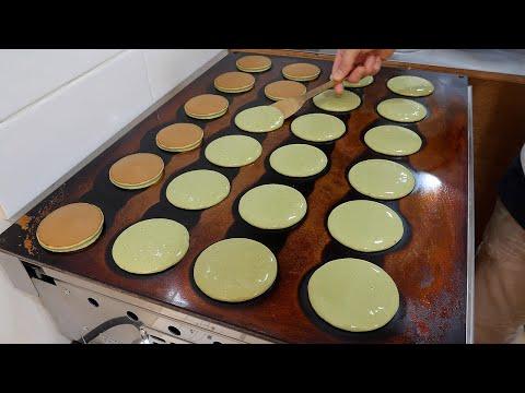도라야끼 전문점 / cheese cream red bean pancake / korean street food