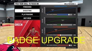 How To choose your own Badge Drills in nba 2k20